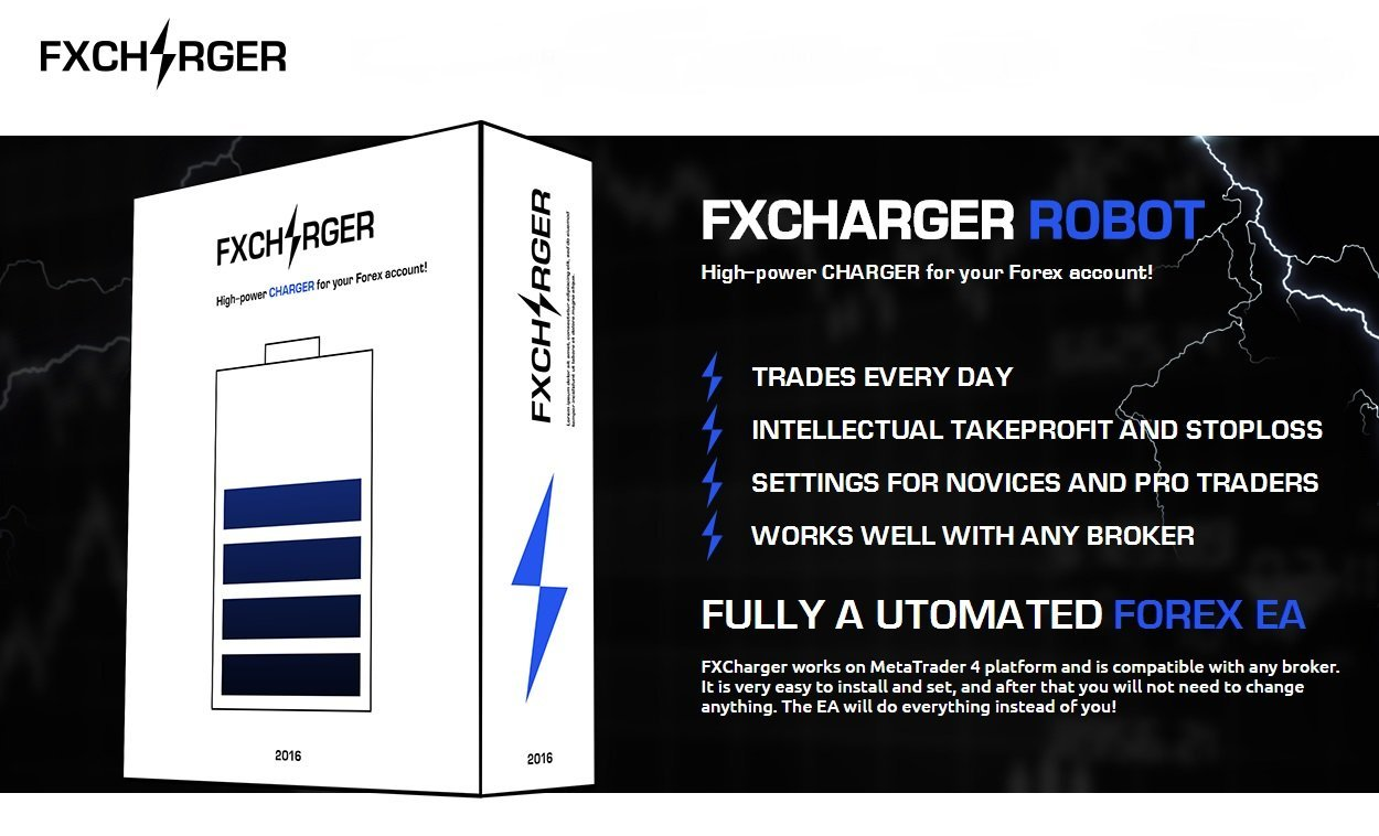 FXCharger EA Review - FX Charger EA Is A Very Profitable Forex Expert Advisor Created By The FX-Builder Company And Most Advanced Forex Trading Robot For The Metatrader 4 Terminal