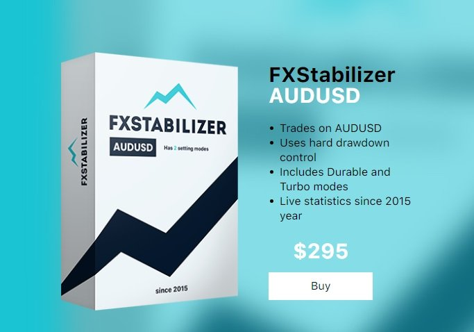 FXStabilizer EA AUDUSD - First FX Expert Advisor Trades On AUDUSD Pair Only