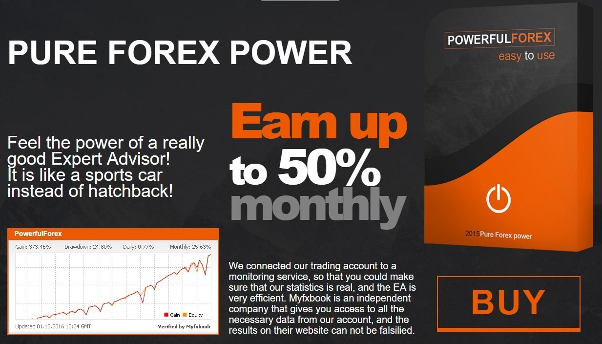 PowerfulForex EA Review - PowerfulForex EA Is A Very Profitable And Reliable FX Expert Advisor And Forex Trading Robot - Earn Up To 50% Monthly