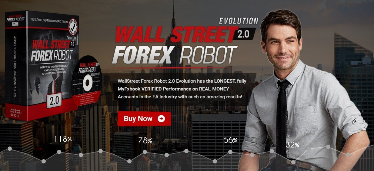 WallStreet Forex Robot 2.0 Evolution Review - WallStreet Forex Robot 2.0 Is A Profitable FX Expert Advisor For Metatrader 4 With Built In Broker Protection System Created By FX Automater Team