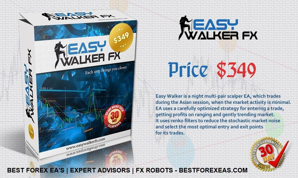 Easy Walker Fx EA Review - Easy Walker Fx EA Is A Night Multi-Pair Scalping Robot For The Asian Session And Forex Expert Advisor For Metatrader 4 (MT4) Trading Plaform Created By Argolab