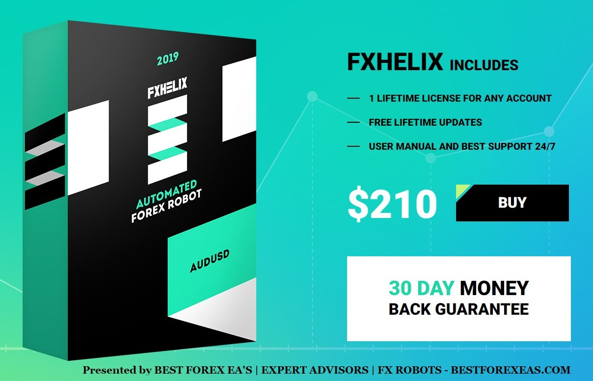 FXHelix EA Review - FX Helix EA Is One Of The Best FX Expert Advisors For Automated Trading And A Long-Term Profitable Forex Trading Robot For The Metatrader 4 (MT4) Platform