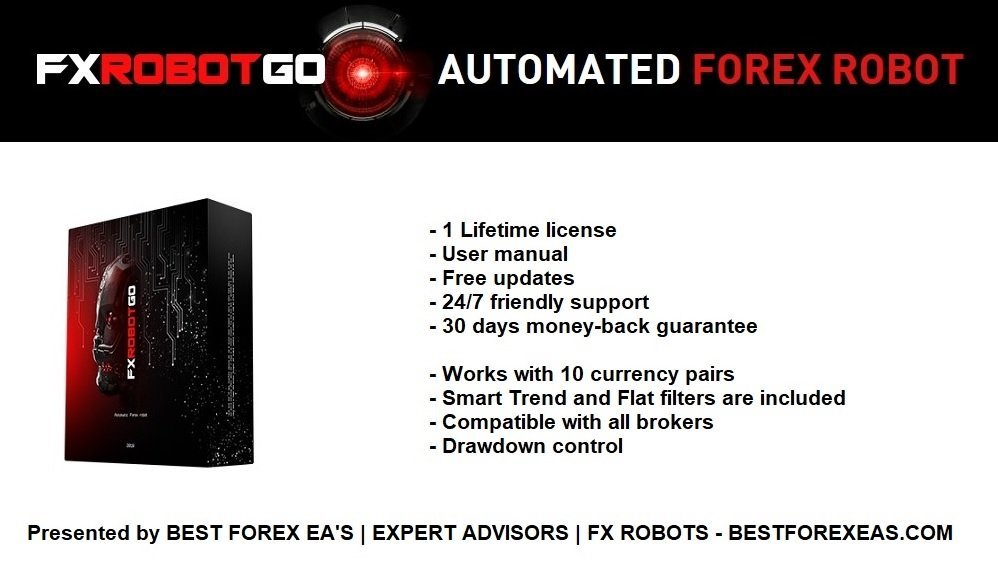 FXrobotGO Review- FXrobotGO Is A Fully Automated FX Expert Advisor For Metatrader 4 (MT4) Trading Platform And Reliable Forex Robot Created By Professional Traders