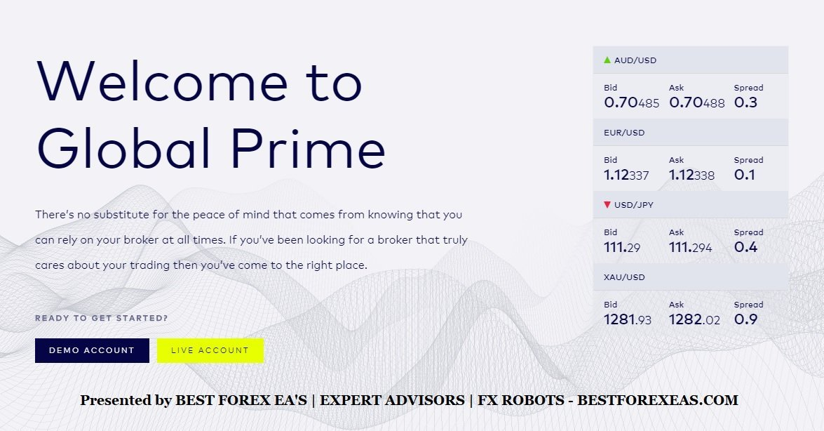 Global Prime Review - Trustworthy And ASIC-Regulated Australian-Based Online Forex And CFD Broker With Exceptional And Reliable Customer Support