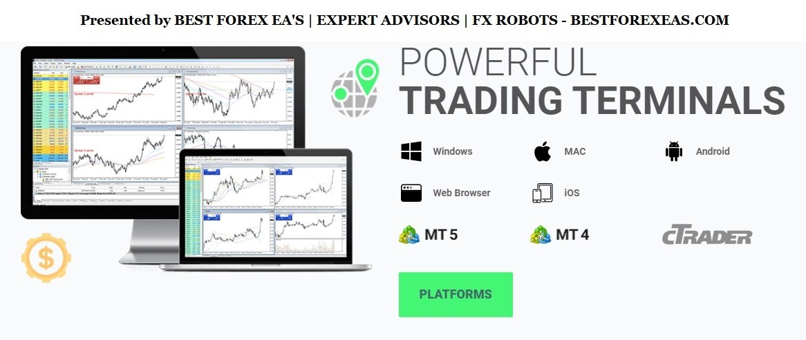 IC Markets Review - 3 Trading Platforms Metatrader 4, Metatrader 5 And cTrader Offered By This FX Broker