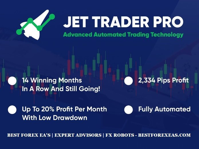 Jet Trader Pro EA Review - Jet Trader Pro EA Is A Profitable Forex Expert Advisor And Reliable Forex Trading Robot For Metatrader 4 (MT4)