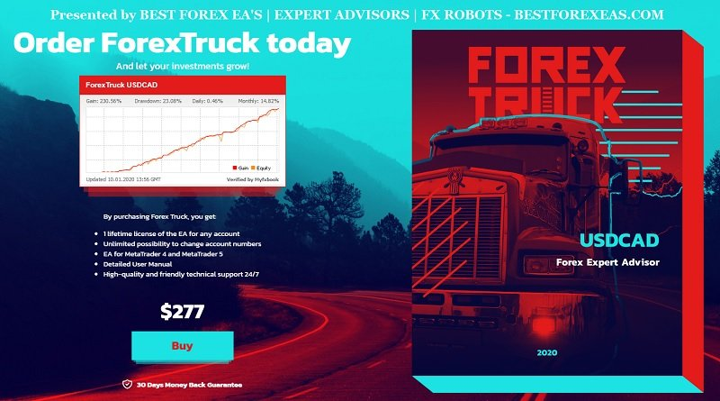 Forex Truck EA Review - Forex Truck EA Is The Best FX Expert Advisor With Smooth Profitability And Forex Trading Robot For Metatrader 4/5 (MT4/5) Platform