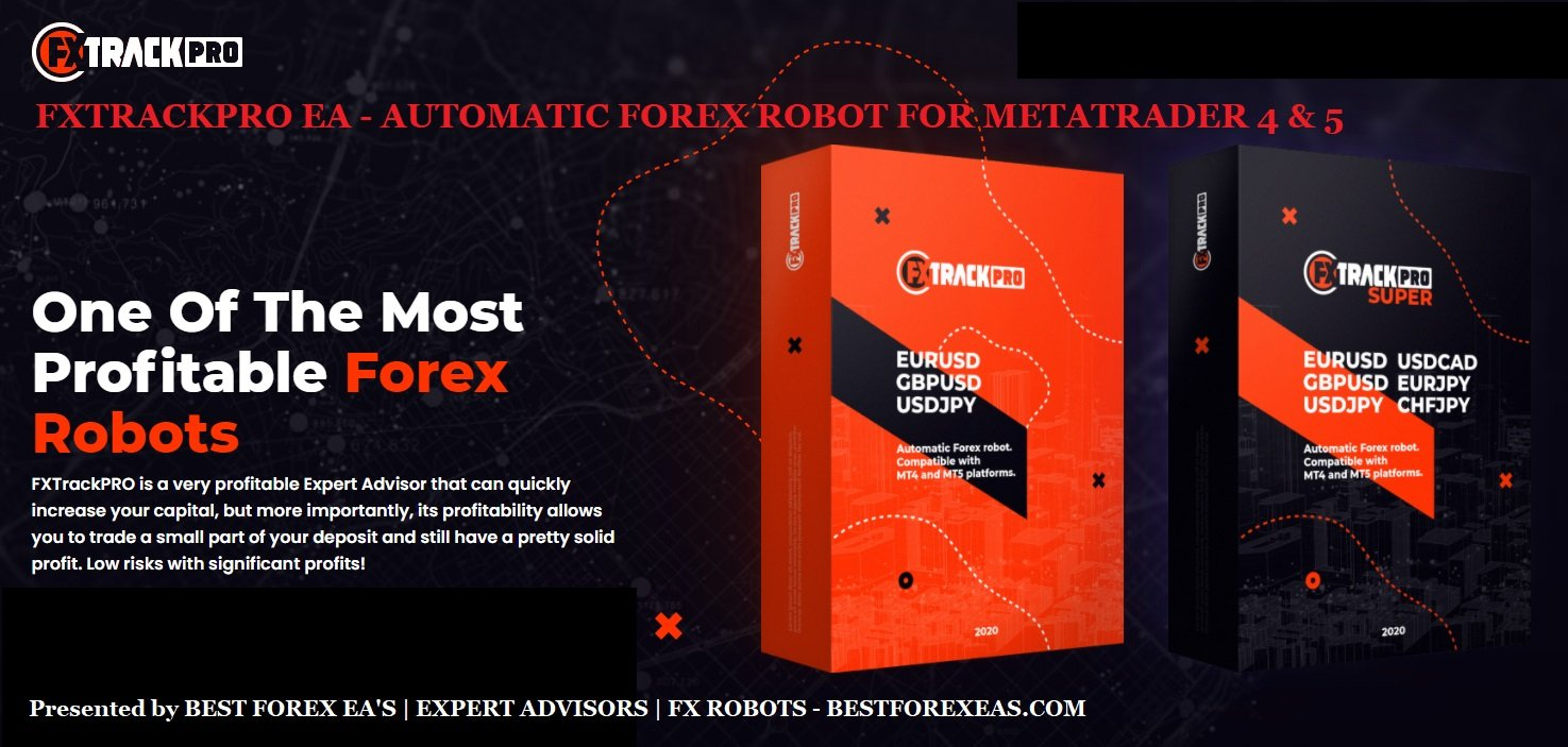 FXTrackPRO EA Review - FXTrackPRO EA Is The Best Forex Expert Advisor For Long-Term Profits And Forex Trading Robot For Long-Term Profits Trading On 6 Currency Pairs