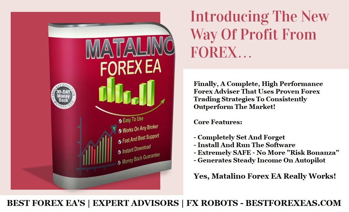 Matalino Forex EA Review - Matalino Forex EA Robot Is A Profitable Forex Trading Robot And Fully Automated FX Expert Advisor For Metatrader 4 (MT4) Platform